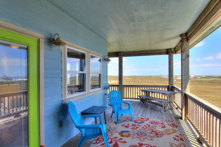 Gulf-View Duplex Steps to the Beach - Port Aransas - Appartement