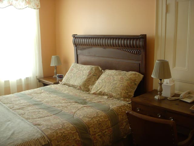 Historic Bed and Breakfast in Honesdale One Full Bed