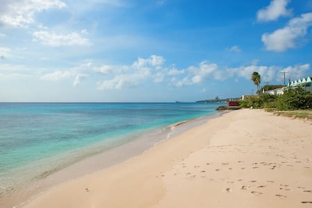 Coral Sands beachfront apt., west coast, BB - Douglas - Leilighet