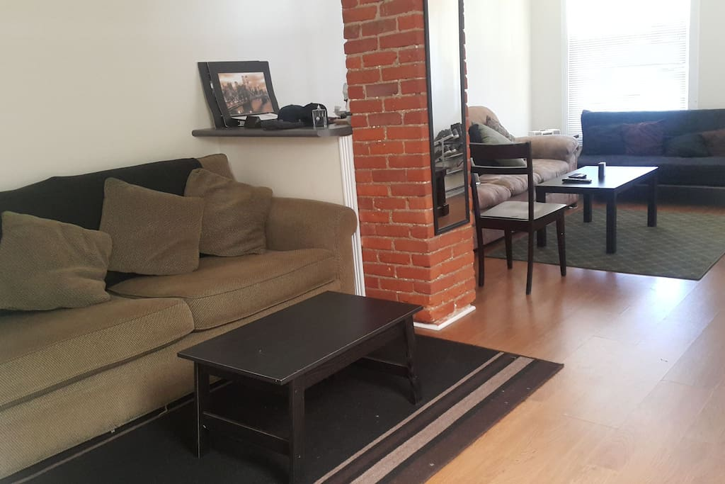 Access to living room.
