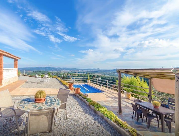 Villa privada con piscina y espectaculares vistas