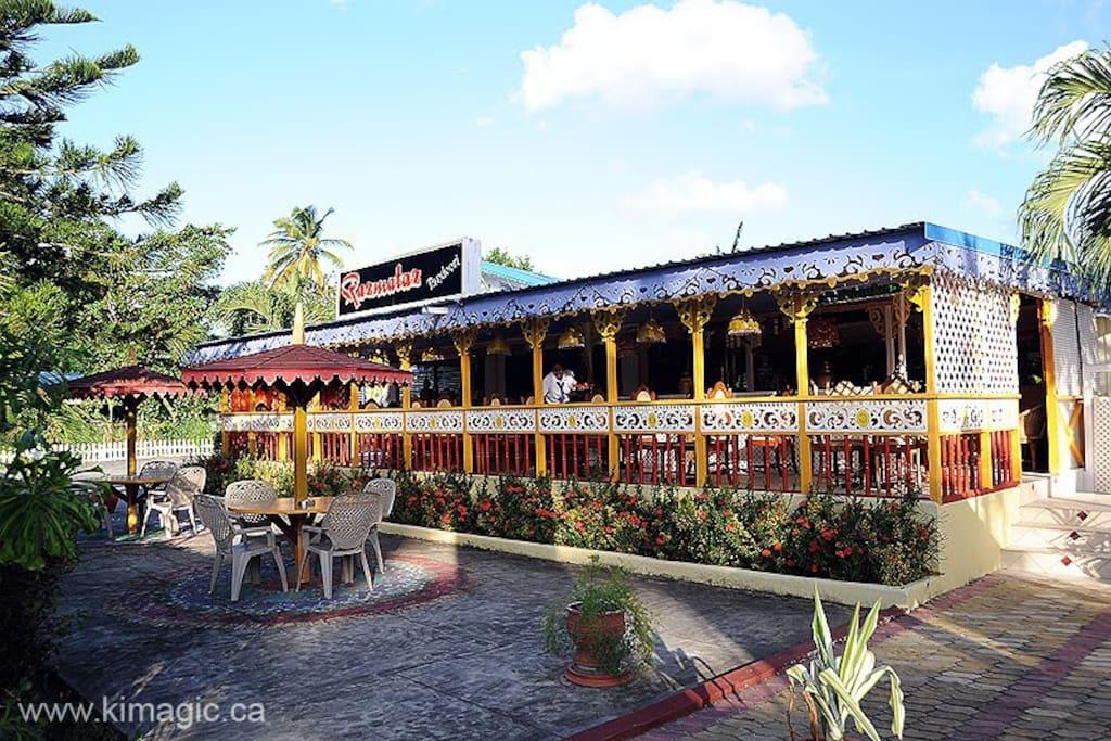 Restaurant on property