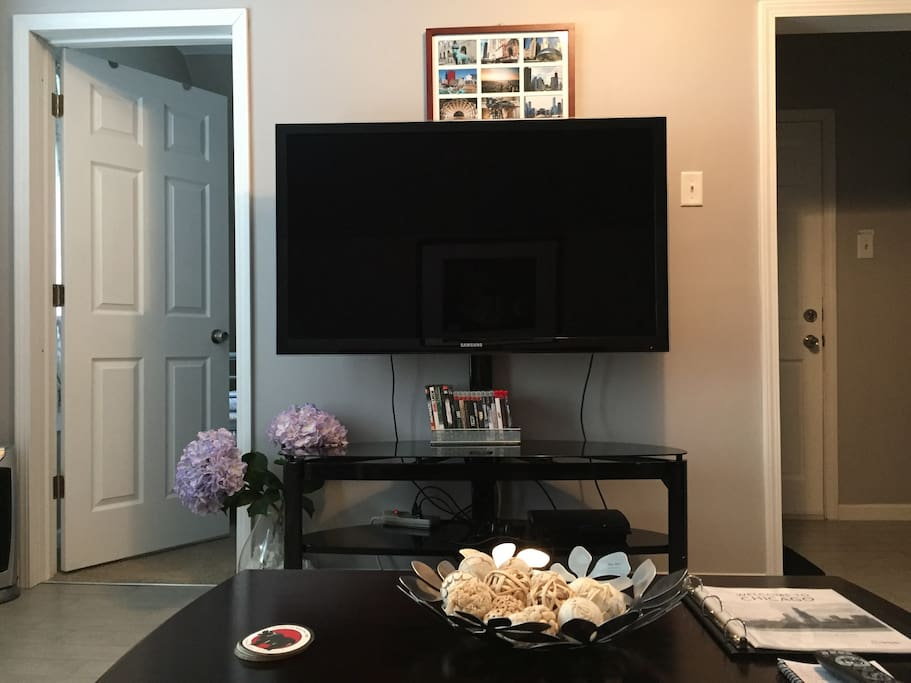 UPDATE- Bigger flatscreen tv in living room