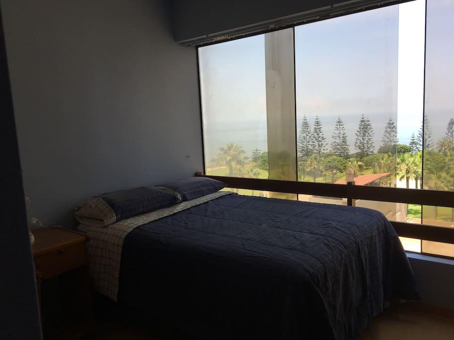 Vista desde el dormitorio