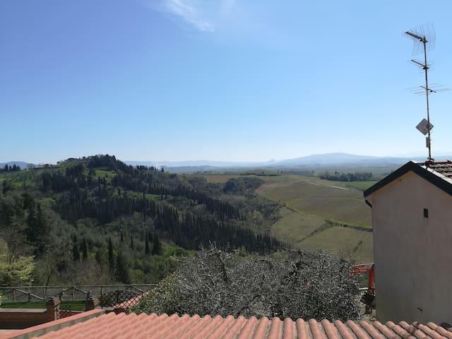 appartamento nel cuore della Toscana.