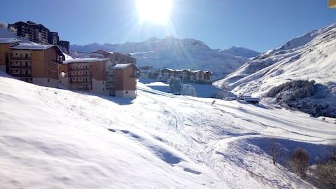 Appartement triplex 6 personnes skis aux pieds!