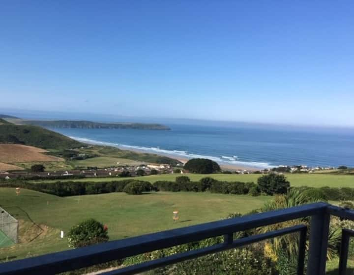 2 Bed Apart - Stunning Views Of Woolacombe Beach