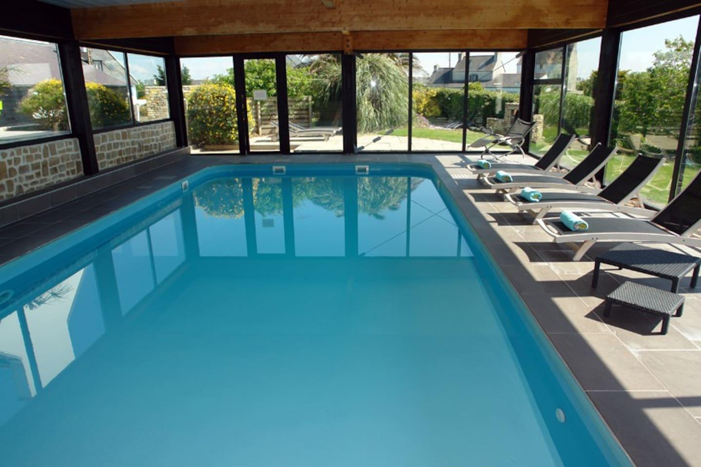 Villa du Vent du Large Callot piscine 30 °