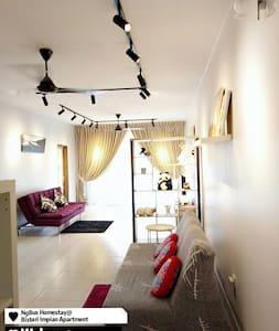 5分钟抵达新山各大商场NgBus Homestay@Bistari Impian Apartment