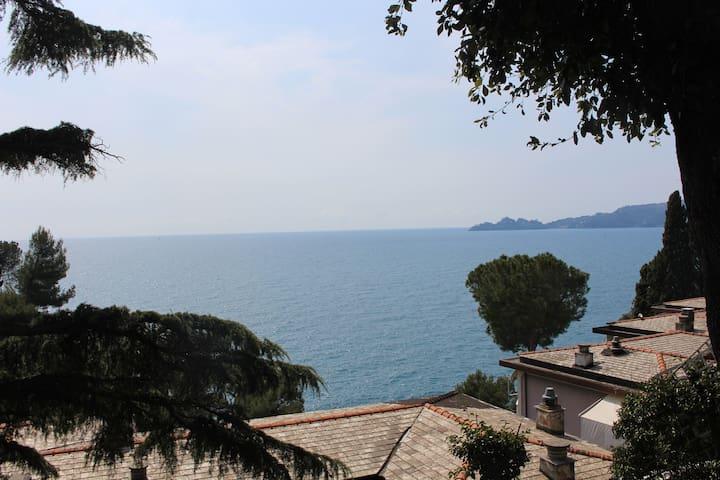 Casa direttamente sul mare - Zoagli - Apartament