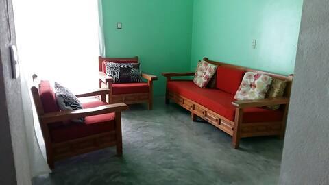 Apacible cuarto, cómodo y privado