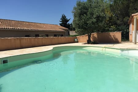 La Gerlache, swimming pool & garden - Albas
