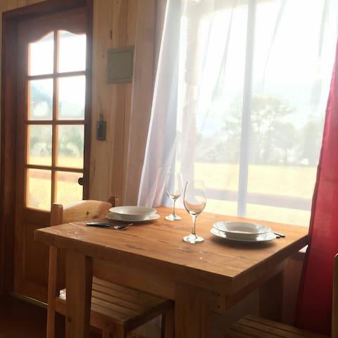 Habitación Equipada Lindo Paisaje en  Pucon