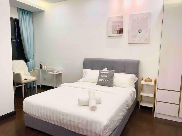 Relax homely feel 2 Room suite KLCC WIFI中文房东高级民宿9