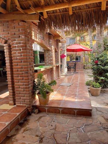 Hotel rural  en renta para grupos, de 20 personas