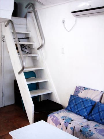 Loft Stairs (not easy for some)
