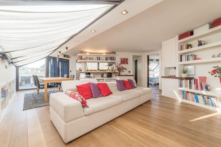VILLA TORLONIA - Exclusive Penthouse x4! NEW