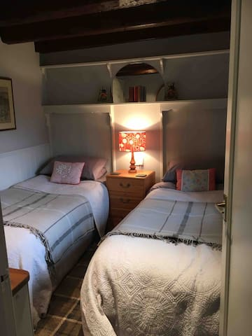Twin room from hallway