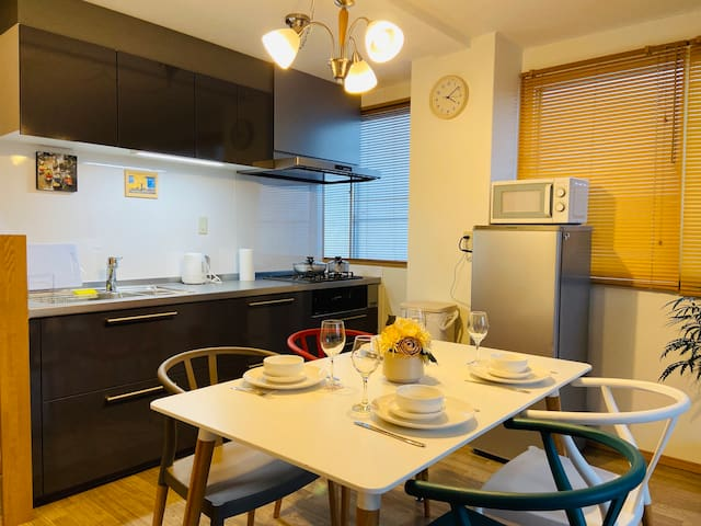 ★Family-friendly 3F condo ★5min walk to Nagano Sta