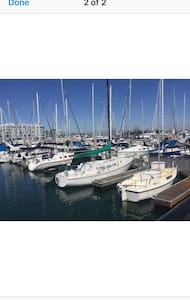 Cozy Sail boat at The Marina Harbor - Marina del Rey