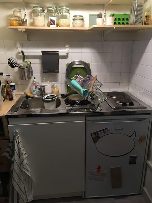 La kitchenette