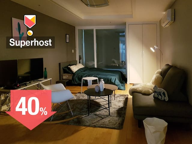 2♡Sale! Lovely house for you:) Seolleung ST 3min