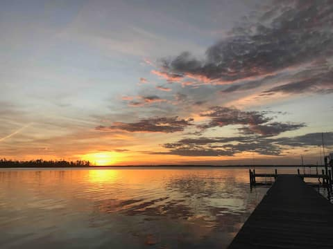 Sunsets on the Pungo