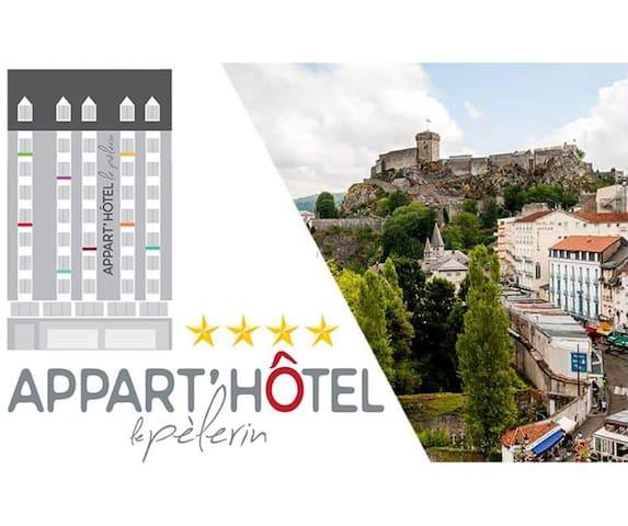 Appart hôtel du Pélerin - Lourdes - Huoneisto