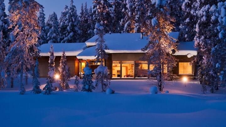 Arctic Villa Living