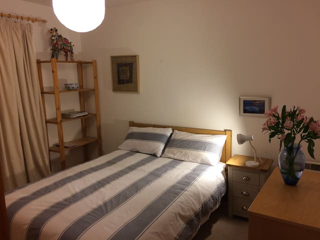 Double room in the Village of Ullapool - Ullapool - Lägenhet