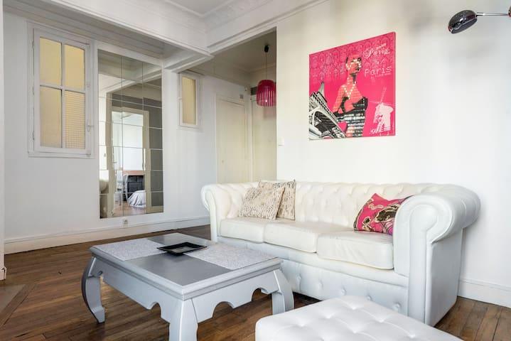 Bright 2 bedroom apartment - Vanves - Apartment