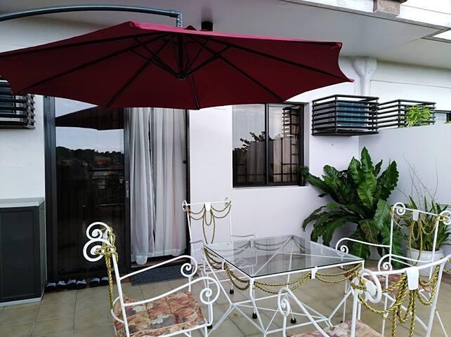 Two bedrooms Condo unit with Spacious Veranda
