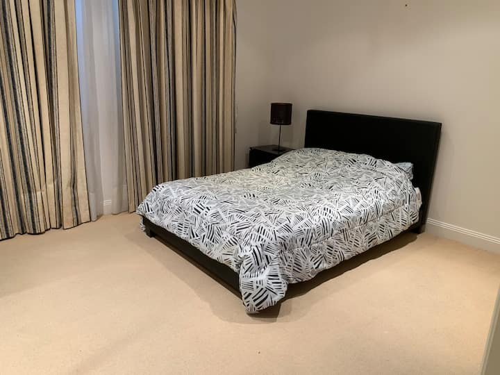 Spacious  room in a posh area