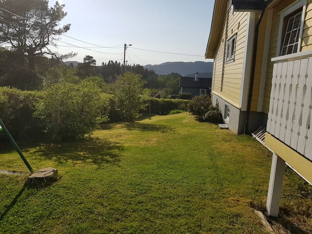 Fana - house with beautiful view, close to nature