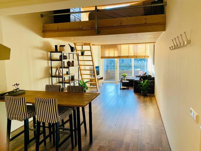 Uniek appartement direct aan de Rijn - Leiderdorp