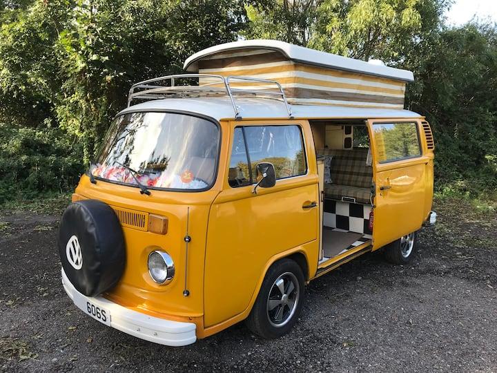 Original 1978 VW Camper called Sunshine