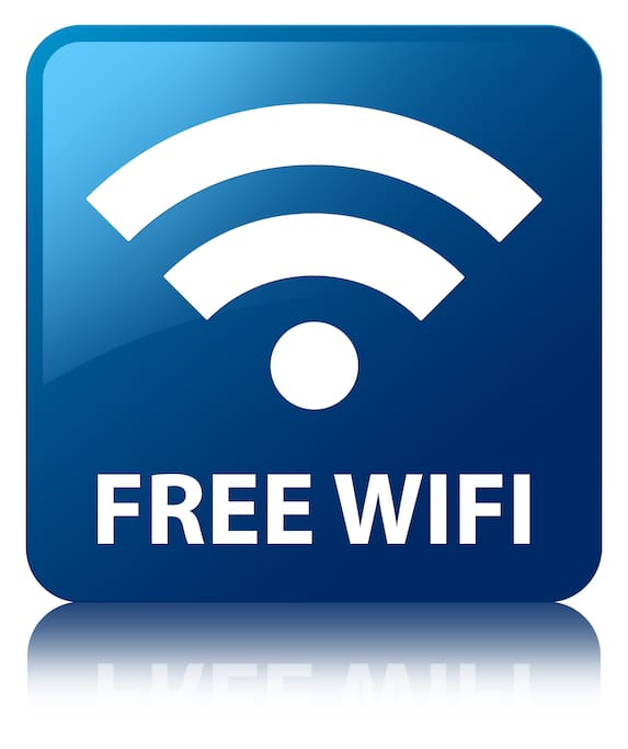We understand that you need to stay in touch. We providing complimentary unlimited internet.