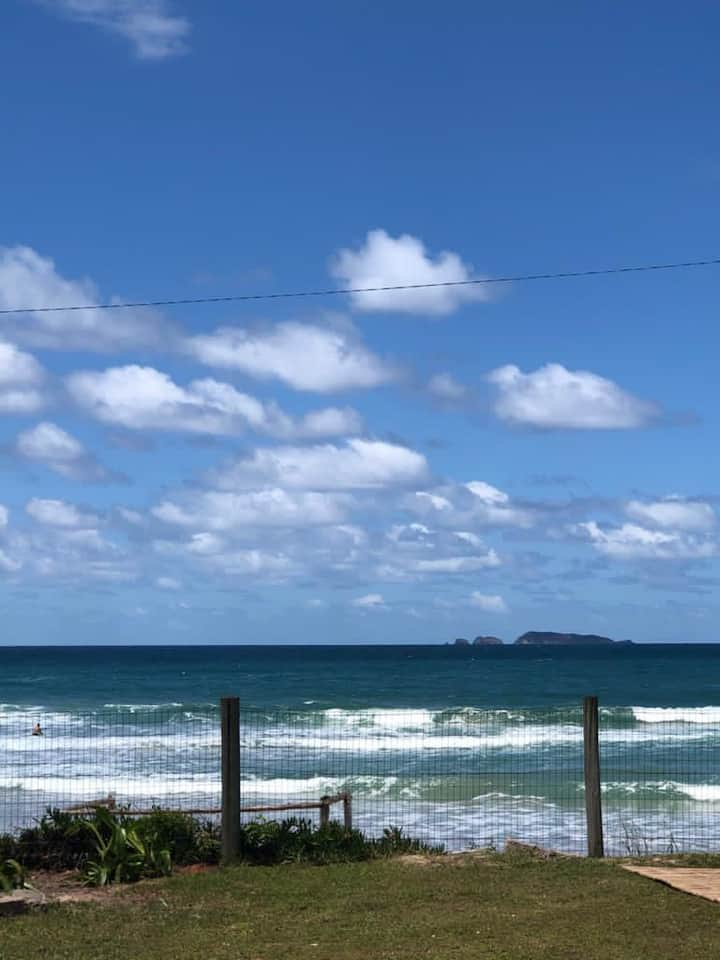 Cabana pé na areia em Florianopolis