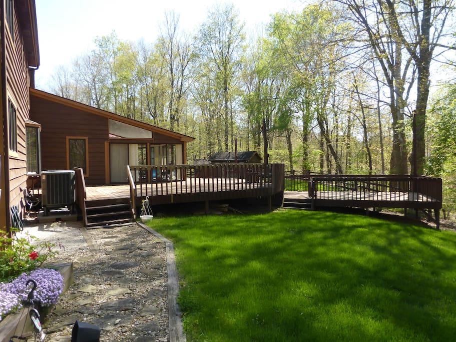 Backyard (5 acres total)