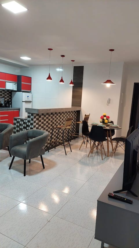 Apartamento mobiliado no centro de Paulo Afonso