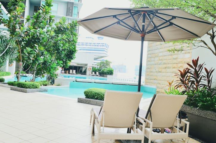 SwissGarden 1BR 1B 3 person stay Bukit Bintang