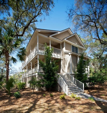 Beautiful Charleston-Style Home! Walk to Crabbing Dock! Bikes! Kayaks!