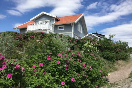 House with sea view on the idyllic Sannäs - Tanum V