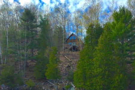 Fancy camping in Massassauga Provincial Park