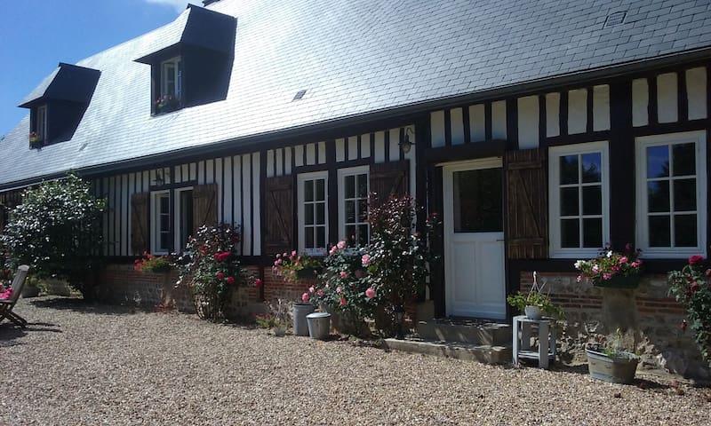 Chambres d'hôtes au cœur d'un verger normand - Saint-Gilles-de-la-Neuville - Guesthouse