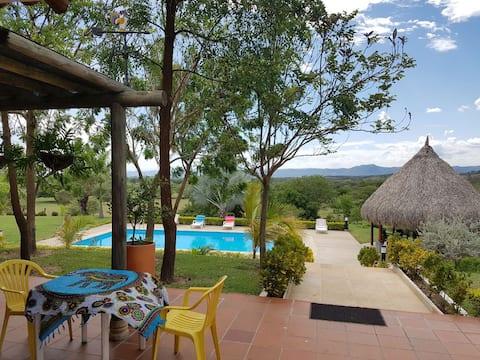 Casa de camp, nature and fauna