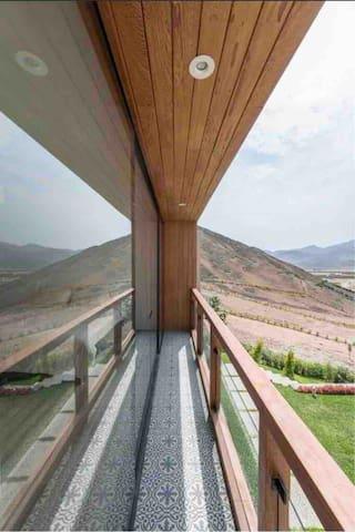 Balcón Dormitorio Principal
