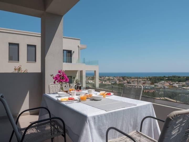 Dempla Heights Villas - Villa Petra with Sea View