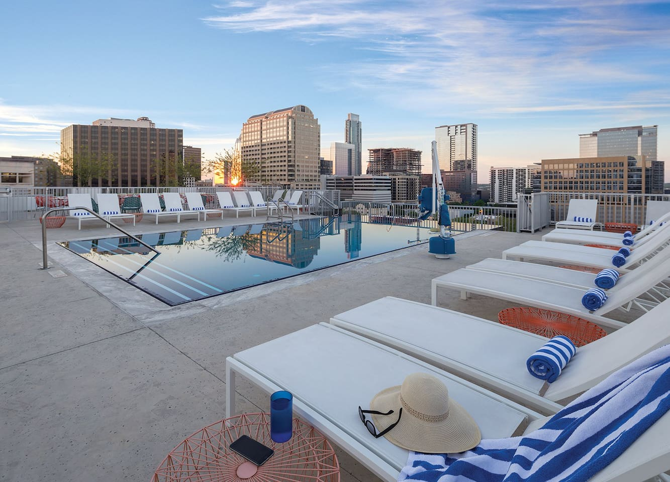 Rooftop pool available to all guests