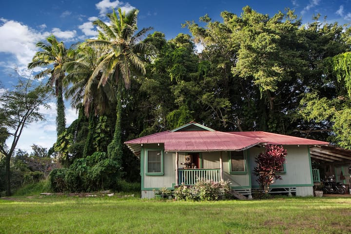 Plantation Era Cottage near Hawi - Kapaau - Rumah